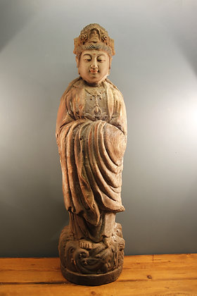 Lovely Patina on this 19th century Buddha.