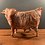 Thumbnail: Large and Colourful Ceramic Bull By Ostinelli and Priest