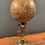 Thumbnail: Replica 16th Century Globe Mounted on Heavy Brass Stand.
