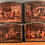 Thumbnail: Set of Four Chromolithographs Doors off a Cabinet.