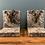 Thumbnail: Stunning Heavy Stone Rams Head Book Ends