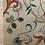 Thumbnail: Beautiful Original Wallpaper Design Sample. Hand Painted. Early 20th Century