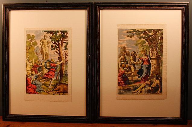 Framed Ferrari Prints. C1646.
