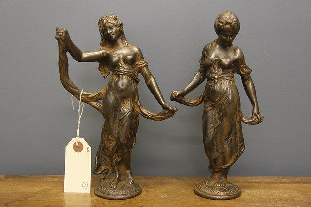 Heavy Bronze Figurines