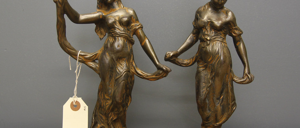 Heavy Bronze Figurines