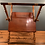 Thumbnail: Rare Two Tiered Folding Butlers Tray