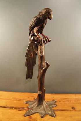 Large Bronze Parrot