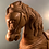 Thumbnail: Large Unpainted French Carousel Horse.