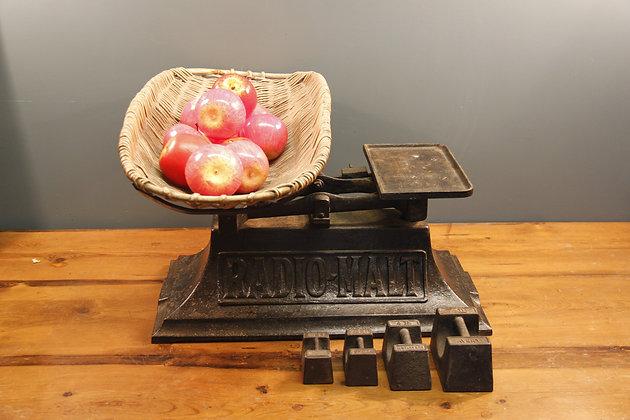 Large Scales or Unique Fruit Bowl