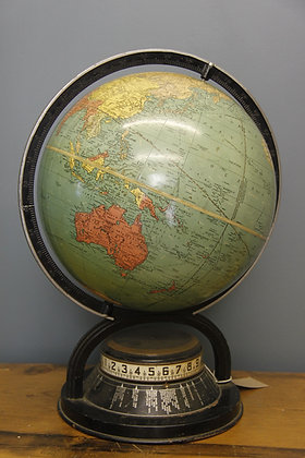 Replogle Globe mid 20th Century