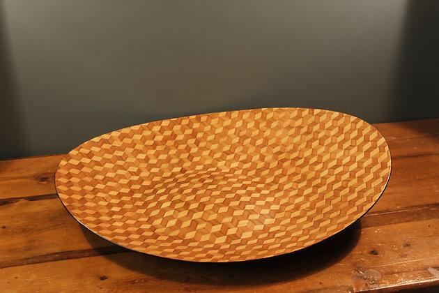 Danish Bamboo Bowl Perfect Condition