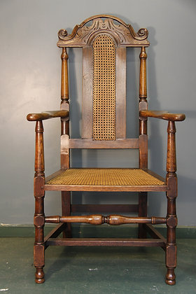 William and Mary Style Elbow Chair