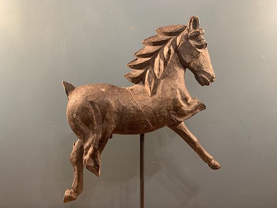 Wooden Horse Beautiful Patina