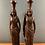 Thumbnail: Lovely Wooden Carvings of Tribal Women