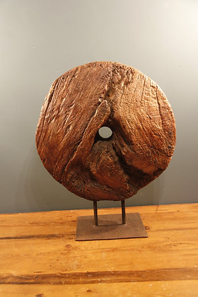 Indian Yew Wood Wheel 200 to 300 years old.
