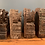 Thumbnail: Heavy Ornate Wooden Blocks From Rajasthan India