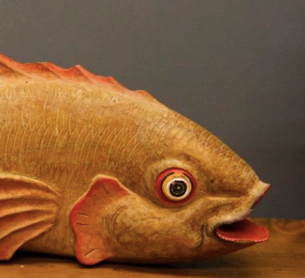 Wooden Carved Fish