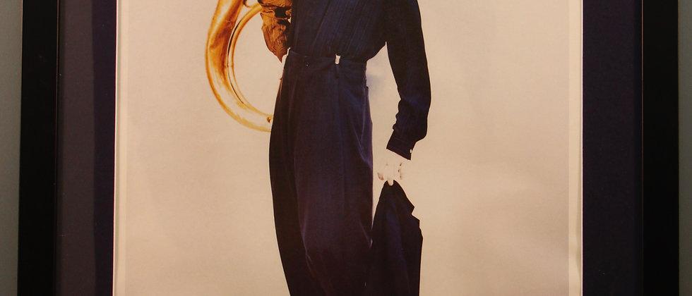 1980's Framed Fashion Poster