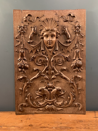 Walnut Wood Plaque