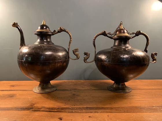 Pair of Large Pots from Rajasthan India
