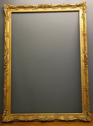 Large Gilt Frame Lovely Detail.