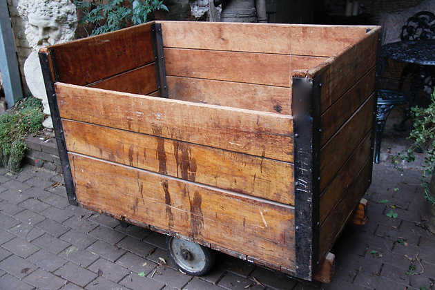 Very Large Container on Wheels. (Possible Wood Store)