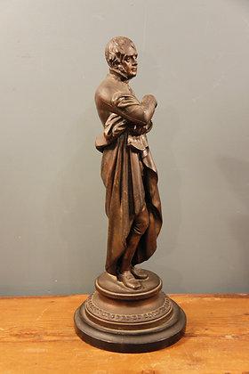Bronze of Sir Walter Scott. Historian, Playwright and Poet.