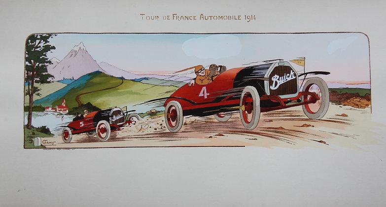 Gamy and Montaut. c1910. Cars Part 2. Pochoir