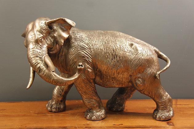 Metal Bull Elephant Lovely Detail.