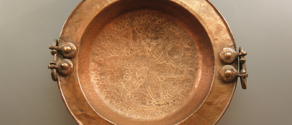 Large Copper Plate