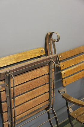 Four Great Vintage Garden Chairs