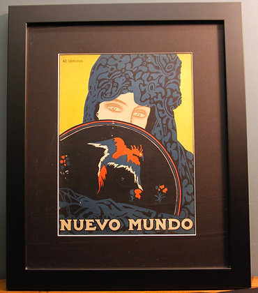 Nuevo Mundo. Original 1920's Spanish Print. (Fashion)