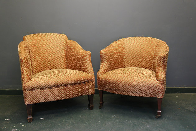 Small Pair of Bedroom Chairs.