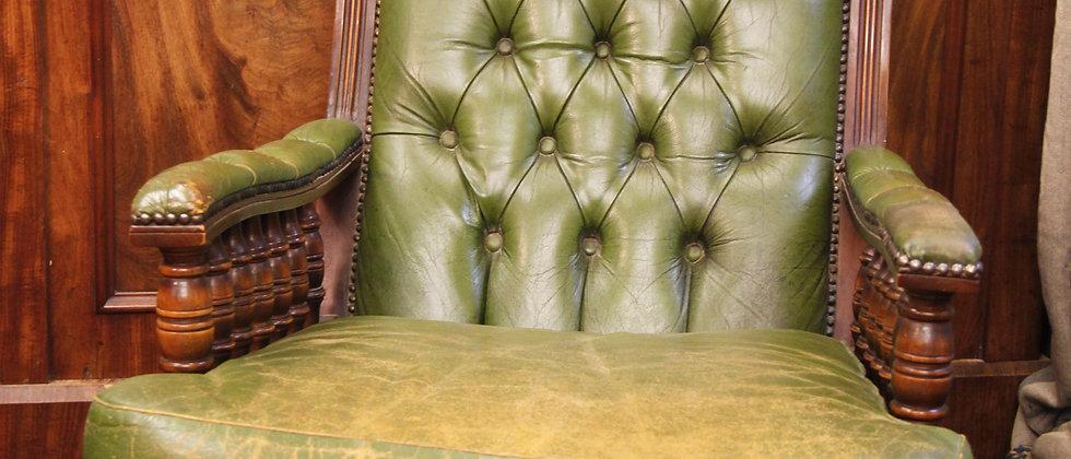 Gorgeous Colour Leather Chair.