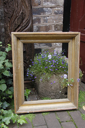 Medium Solid Plain Gilded Frame
