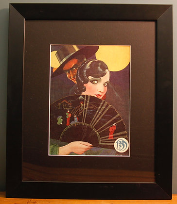 Blanco Y Negro Original 1920's Art Prints. (Fashion)