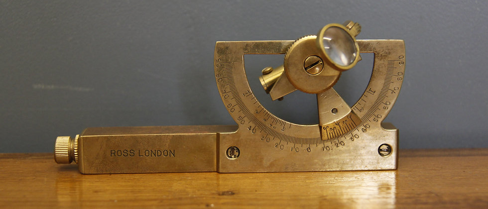 Ross London. Brass Surveyors Assistant early 1900's