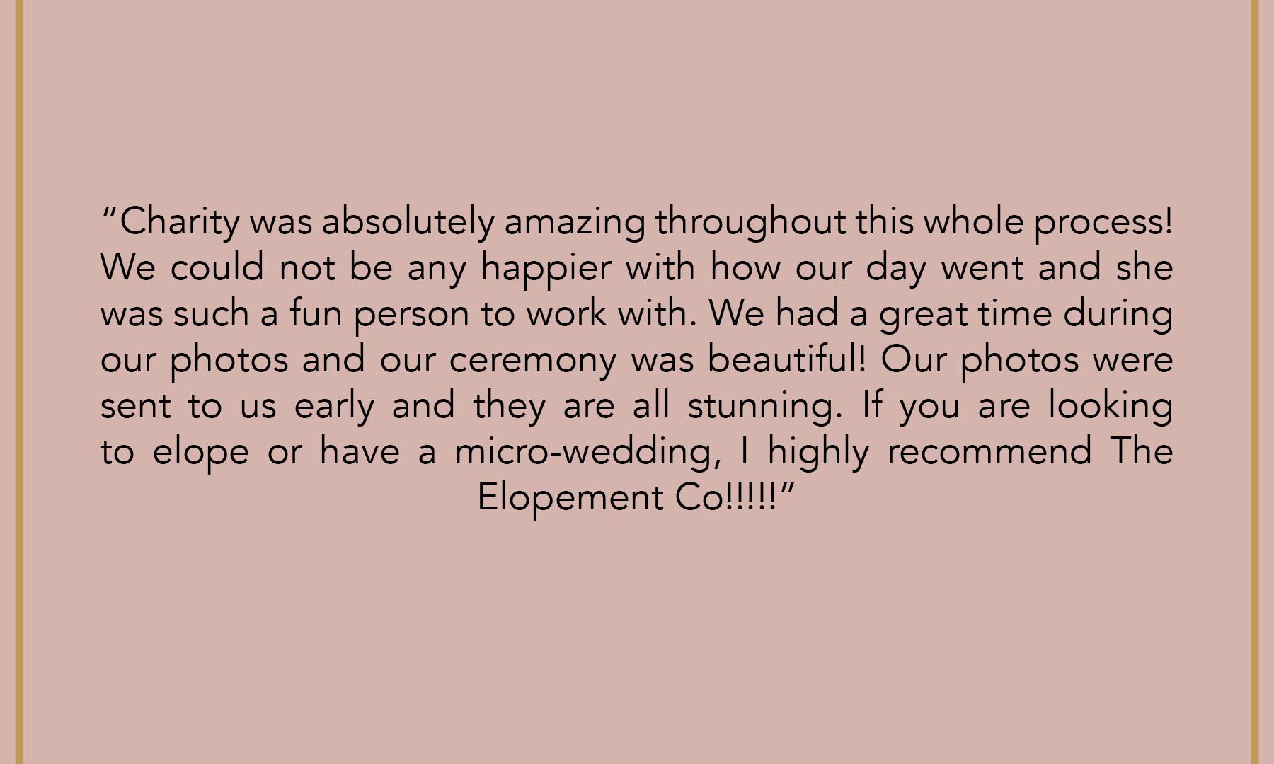 The Elopement Co. Reviews