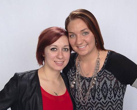 Shelby and Jessica Zarobinski