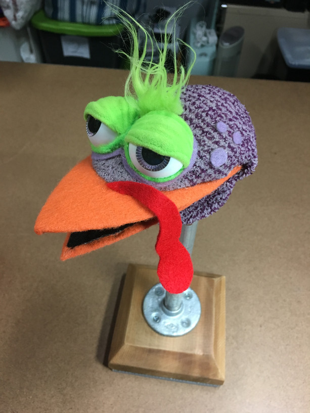Turkey Puppet Build