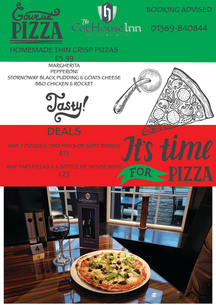 Pizza Promo at The Cothouse Inn