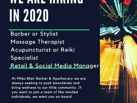 Hello Miles Blair Collective! Apply directly on our job opportunities page!!!