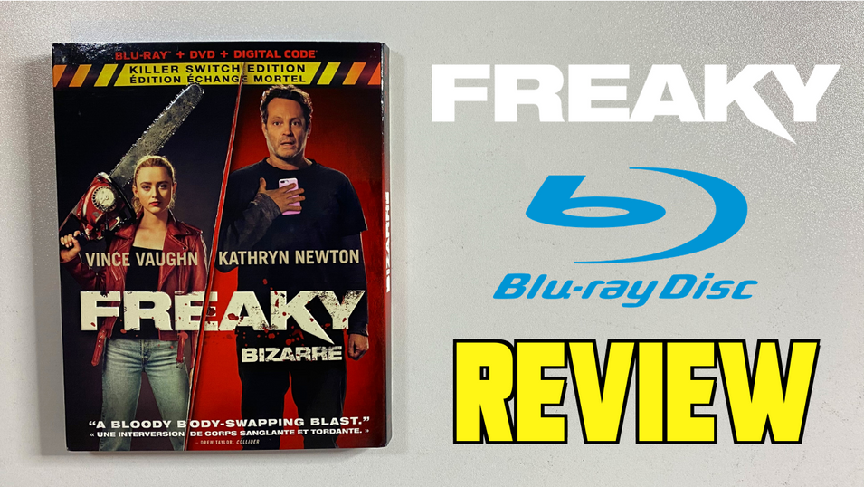 """Blu-Ray Review """"FREAKY"""""""