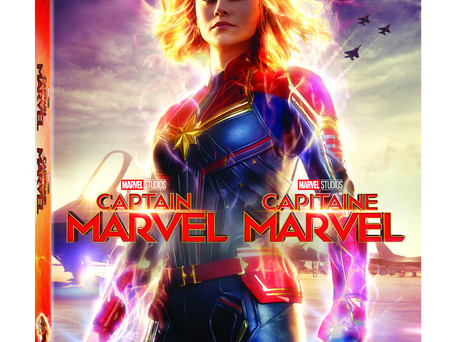 CAPTAIN MARVEL IS BLASTING TO HOME ENTERTAINMENT!