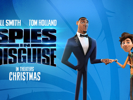 """NEW TRAILER FOR BLUE SKY STUDIOS' """"SPIES IN DISGUISE"""" STARRING WILL SMITH AND TOM HOLLAND!"""