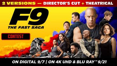 Contest - F9: THE FAST SAGA