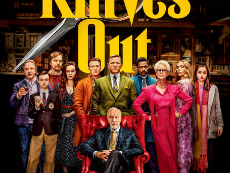CHECK OUT THE NEW TRIALER FOR RIAN JOHNSON'S KNIVES OUT!