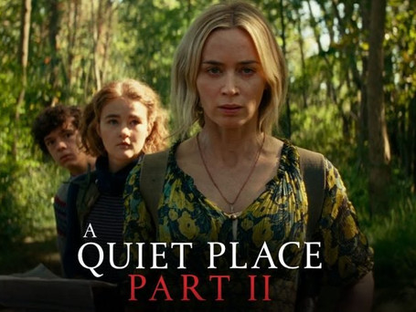 """CHECK OUT THE NEW TRAILER FOR """"A QUIET PLACE PART 2""""!"""