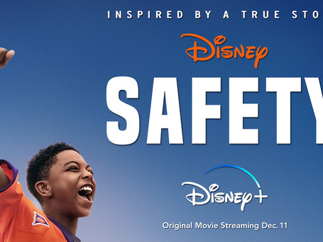 """DISNEY'S POWERFUL AND MOVING DRAMA """"SAFETY"""" TO DEBUT ON DISNEY+ ON DECEMBER 11"""
