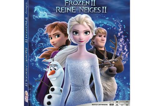 FROZEN 2 COMING TO DIGITAL HD,  4K ULTRA HD™, BLU-RAY™ & DVD IN FEBRUARY!